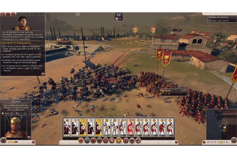 Total War: Rome II - Prologue Campaign ~ Battle Gameplay ...