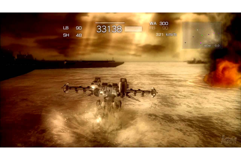 Armored Core 4 Xbox 360 Gameplay - Sink the Ship (HD ...