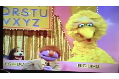 My Sesame Street Home Video The Alphabet Game Part 1 - YouTube