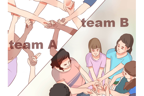 How to Play the Human Knot Game: 10 Steps (with Pictures)