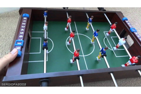 Holiday gift ideas: inexpensive table top foosball soccer ...