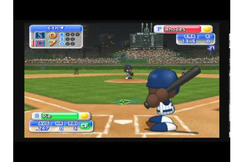MLB Power Pros 2008 (Wii) World Series Game #1 Mariners ...