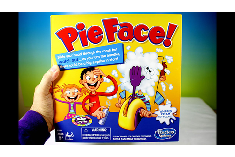 Pie Face Game - Unboxing Toy Review - YouTube