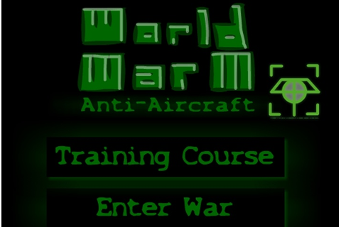 World War III Anti-Aircraft Game - First Person Shooter ...