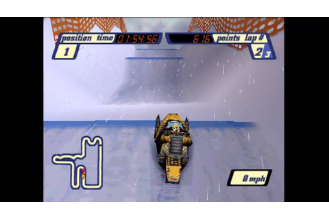 SLED STORM PS1 Best Game Ever! - YouTube