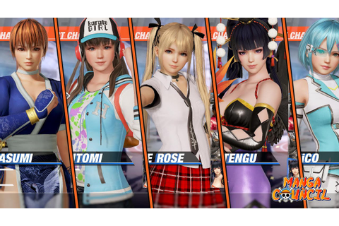 Dead or Alive 6 Save Game | 100% Costumes Unlock | 100% ...