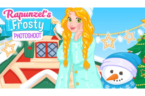 Disney Princess Rapunzel's Frosty Photoshoot (Winter ...