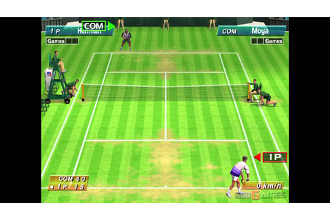 Virtua Tennis - Gameplay Dreamcast HD 720P - YouTube