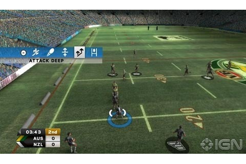 Rugby League 3 AU Review - IGN