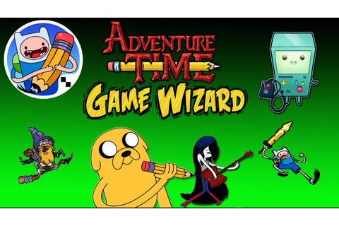 Adventure Time Game Wizard - Update New Character Gameplay ...