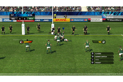 Rugby World Cup 2011 Review (360) - The Average Gamer