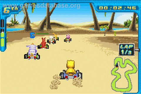 Digimon Racing - Nintendo Game Boy Advance - Games Database