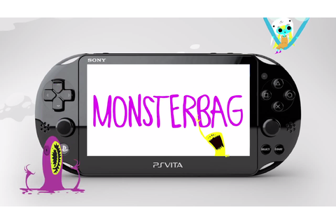 PS Vita Exclusive MonsterBag Gets an Animated Announcement ...