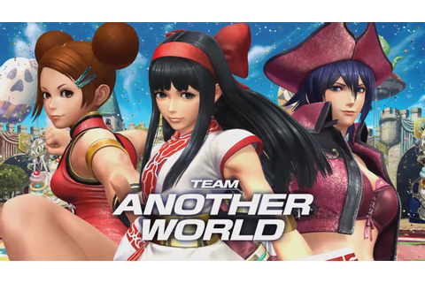 The King of Fighters XIV's Team Another World Introduced ...