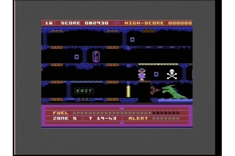 THE LEGEND OF THE KNUCKER-HOLE /JET BOOT JACK II (C64 ...