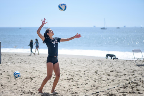 SBCC beach volleyball star surges with potential in first ...