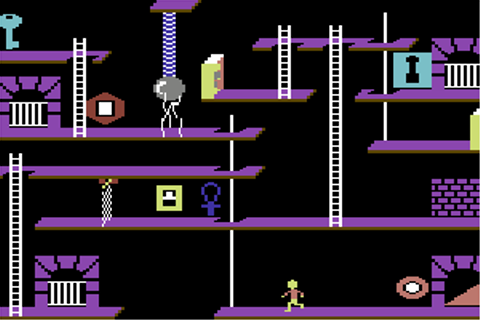 The Castles of Dr. Creep (Commodore 64) - My Abandonware