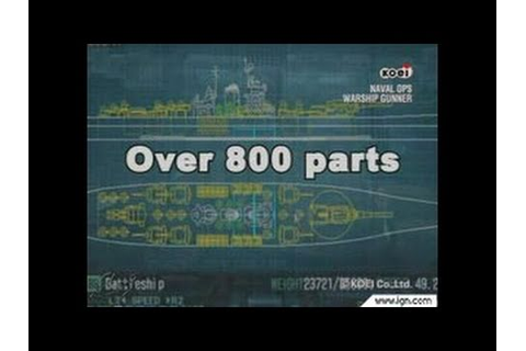 Naval Ops: Warship Gunner PlayStation 2 Gameplay - YouTube