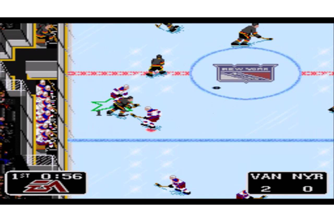 NHL '94 SNES Gameplay HD - YouTube
