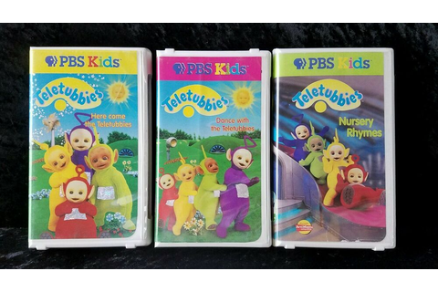 Teletubbies PBS Kids (VHS) Lot of 3 Volumes 1~2~3 | eBay