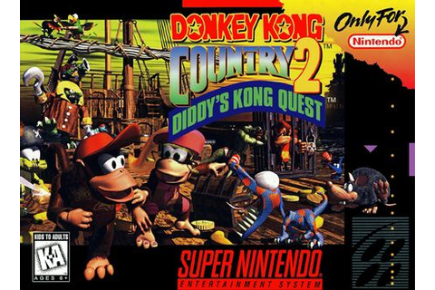 Donkey Kong Country 2: Diddy's Kong Quest - Super Nintendo ...