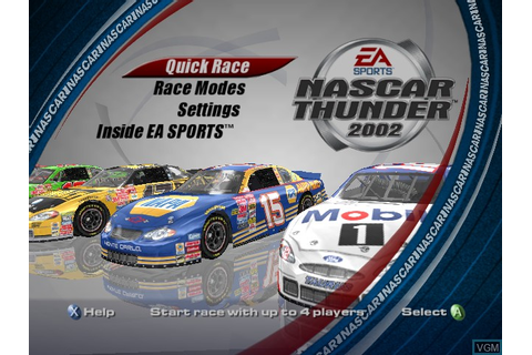 NASCAR Thunder 2002 for Microsoft Xbox - The Video Games ...