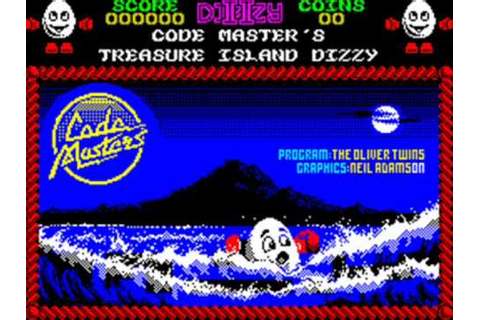 Treasure Island Dizzy Spectrum In-Game Music - YouTube