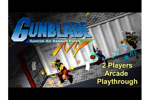 Gunblade NY Arcade Game - Full Playthrough (Sega Arcade ...