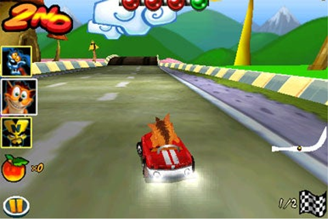 Crash Bandicoot Nitro Kart 3D for iPhone | Macworld