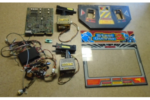 Steel Gunner 2 Arcade Game Machine Kit for sale - FREE ...