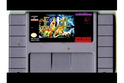E.V.O. : Search for Eden (Jeu Super Nintendo) - Images ...