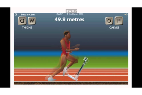 QWOP Running Tutorial - YouTube