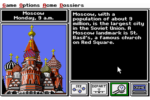 Download Where in the World is Carmen Sandiego | Abandonia