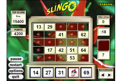 Play Slingo Deluxe > Online Games | Big Fish