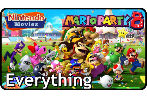 Mario Party 8 - Everything (3 Players, All Characters, All ...