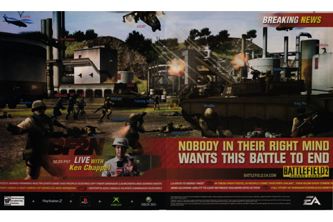 Video Game Print Ads — 'Battlefield 2: Modern Combat ...