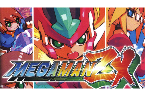 CGRundertow MEGA MAN ZX for Nintendo DS Video Game Review ...