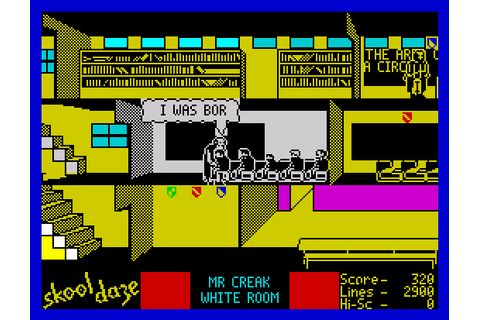 My all time favourite video games: Skool Daze - Sinclair ...