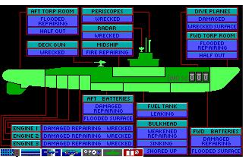 Silent Service 2 Download (1991 Amiga Game)