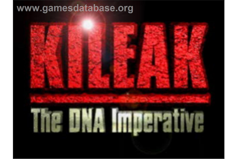 Kileak: The DNA Imperative - Sony Playstation - Games Database