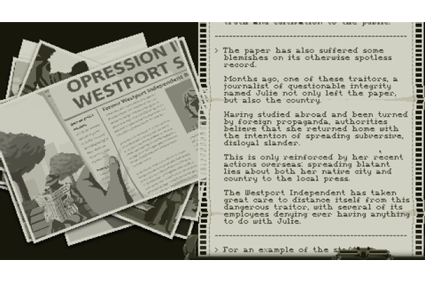 Westport Independent Is An Intense Game About Censoring ...