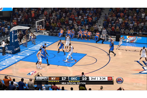 NBA Live 14 Gameplay (PS4 HD) [1080p] - YouTube