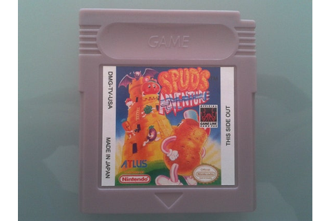 Spud's Adventure For Nintendo Game boy gbc gba gba sp