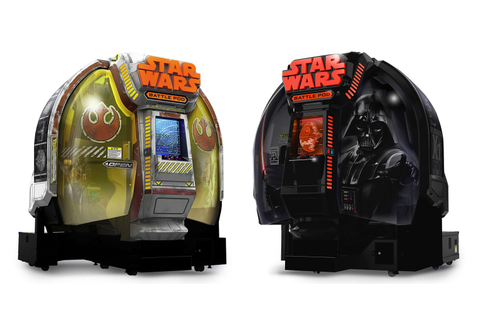 Star Wars: Battle Pod – home version of the arcade game ...
