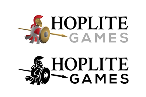 Logotipo Hoplite Games | Domestika