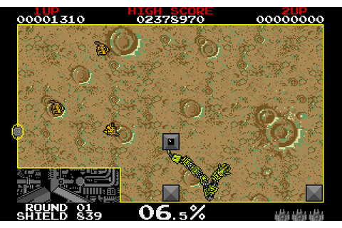 Download Volfied action for DOS (1991) - Abandonware DOS