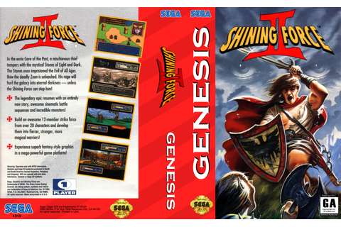 Shining Force II ROM Download for Sega Genesis - Rom Hustler