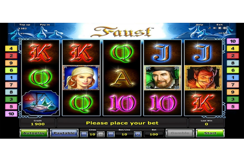 Faust Slot Game with Amazing Winnings | Novomatic Slot Games
