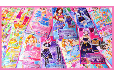 NEW Aikatsu Stars Cards! [Game Results/第1弾排出結果] - YouTube
