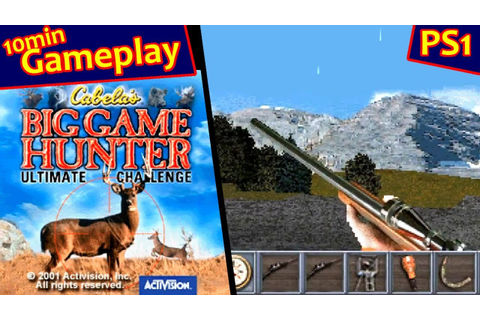 Cabela's Big Game Hunter: Ultimate Challenge ... (PS1 ...